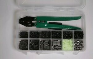 Rigging Kit by Rite Angler with Crimper, Swivels, Snaps,thimbles & sleeves