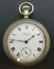 Pocket Watch Antique Waltham Silvero�De