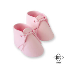 Pme Cake Icing Handcrafted Sugar Sugarcraft Decoration Topper - Baby Bootee Pink