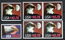USA , nice lot of SIX HIGHEST FACE VALUE EAGLE STAMPS  ( 60 $ )  , MNH
