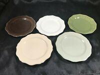 "Set of 5 Signature Homestyles 4"" Sales Sample Plates"