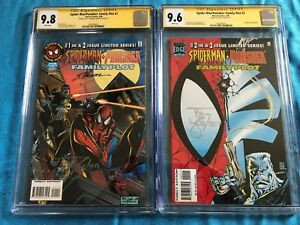 Spider-Man/Punisher Family Plot 1-2 -Marvel - CGC SS 9.8 9.6 -Sig by Lyle, Hanna