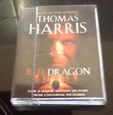 Audio book Red Dragon by Thomas Harris Unabridged Audio Cassette Tapes
