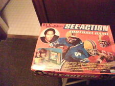 See Action Football Game, Kenner, Complete Set, 1974 O.J. Simpson ultra rare