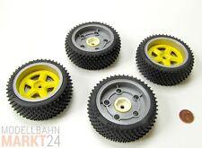 RC Komplettradsatz Reifen Räder Felgen Durchmesser 6,8 cm Maßstab 1:8 1:10