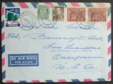 NORWAY #  LAMBERTSETER POSTAL COVER to US 1962