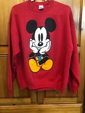 VINTAGE 90s Mickey Mouse Sweater Size XL Mens