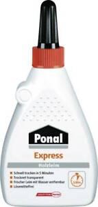 Ponal Express Holzleim Holz Leim 120g 240g 480g Flasche Kleber Bastelleim Henkel