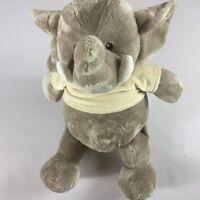"""Baby Ganz Plush Elephant Rattle Stuffed Large 20"""" Giant Noisy Cuddly Wee Tee"""