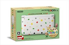 Nintendo 3DS LL XL console Animal Crossing JAPAN Limited Edition  SPR-S-WBDC
