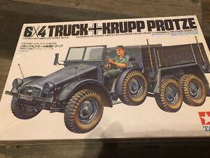 Tamiya 1/35 Scale Krupp Protze 6x4 WWII German Truck Model New!