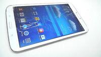 "Samsung Galaxy Tab 3 8"" 16GB Tablet, SM-T310, Wi-Fi, White, Cracked"