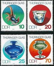 Germany (East) DDR 1983 Thuringen Glass  MNH - Art - Cockerel CHICKEN