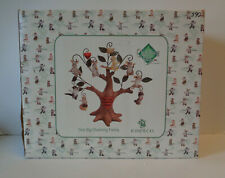 One Big Charming Tails Family Tree Display Complete Set Original Box Enesco Rare