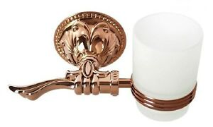 Rose gold colour BATHROOM ACCESSORIES single cup tumbler holder