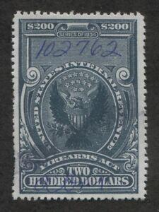 Scott RY8 revenue stamp