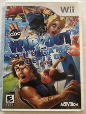 Wipeout: The Game (Nintendo Wii, 2010, NTSC, Cib) Canadian