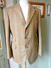 Bladen Mens Supasax 100% Lambswool Tweed Check Jacket Size 42 Immaculate