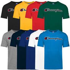 Champion Crewneck Men T-Shirt Herren Kurzarm Sport Shirt Short Sleeve Tee 214194