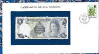 Banknotes of All Nations Cayman Islands 1b Dollar 1971 AUNC P-1 Birthday 1997