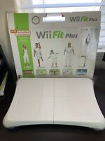 Nintendo Wii Fit Plus Balance Board, Extender Feet - No Disc BOARD ONLY untested