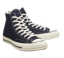 Converse Chuck 70 Hi Top Canvas Trainers Obsidian Navy Blue 164945C