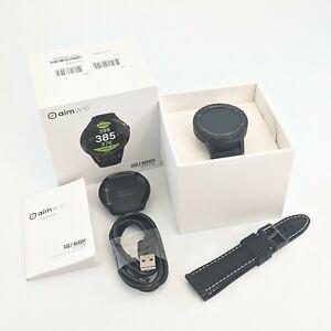 Nice In Box GolfBuddy AIMW10 Golf GPS Watch With Additional Black Band