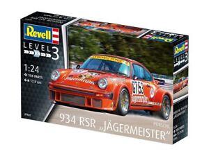 """Revell Porsche 934 RSR """"Jägermeister"""" 1:24 Model Kit - 07031"""