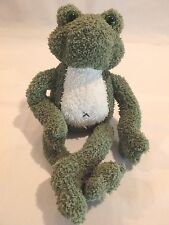 Frog Sprockett GUND plush stuffed animal with pellets to sit up collectors kids