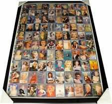 Marilyn Monroe Uncut Collectors Sheet 1-100 Trading Cards Custom Framed 1993