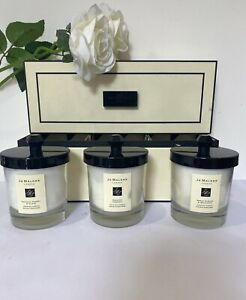 Jo Malone Set Of 3 Christmas Candle Collection RRP £175