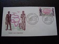 HAUTE-VOLTA - enveloppe 1er jour 17/2/1962 (B12)