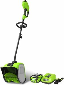 greenworks G-MAX 40V 12 inch Cordless Snow Shovel 4Ah Battery + Charger Included