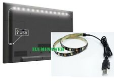 TIRA LED USB 1 Metro 7,2w Luz calida 30 Led  IP44, televison,ordenador ADHESIVA