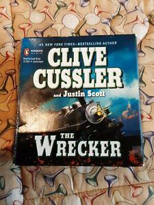 Clive Cussler Audio Books Cd Unabridged... The Wrecker