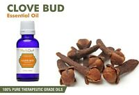 Clove Bud Essential Oil 100% Pure Natural Therapeutic Grade Oils - New/Sealed