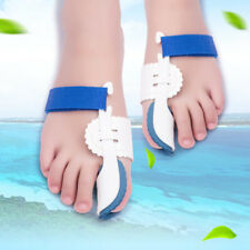 2PCS Toe Corrector Hallux Valgus Orthopedic Brace Night Bon Bunion Straightener