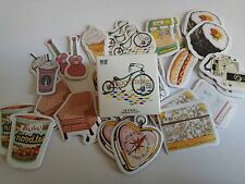 1 box 45 PCS Life items diary decoration Envelope Seal Scrapbooking Sticker