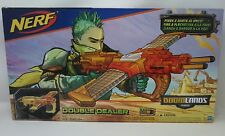 Nerf Doomlands 2169 Double Dealer Gun, Clips, and Ammo