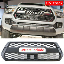 Front Bumper Black Grille Refit Toyota Tacoma TRD PRO 2016 2017 2018