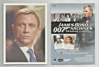 James Bond 007 - Archives # P1 - Promo Trading Card - NM
