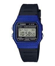 Casio F91WM-2A,   7 Year Battery Chronograph Watch, Black Resin Strap, Alarm
