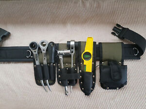 New Scaffolding Nylon Tools Belt 5IN1 Pockets Pouch Spanners Tape Level Holder