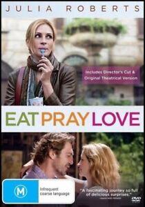 EAT PRAY LOVE (Julia ROBERTS James FRANCO Richard JENKINS) True Story DVD Reg 4