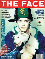 THE FACE 4/1990 ADAMSKI Kate Moss by Corrine Day DANNY DE VITO Joanne Whalley EX