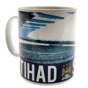 Manchester City Unisex's Stadium Mug-Multi-Colour, 11 oz