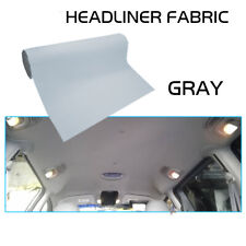 Gray Headliner Replacement Fabric Sagging Upholstery Material Back Foam 48