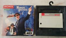 Midnight brothers msx for sony hit bit hbs-g049c the blues brothers
