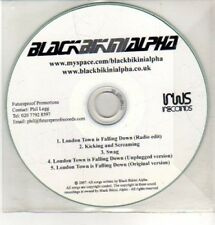 (CQ263) Blackbikinialpha, London Town Is Falling Down - 2007 DJ CD