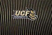 University of Central Florida UCF Polo Shirt, NWT, Large, Vertical Stripe